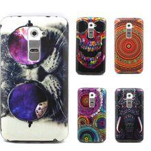 Animal Print Soft Silicone TPU Back Cover For LG Optimus G2 D802 D801 Phone Case Capa Celular(China (Mainland))