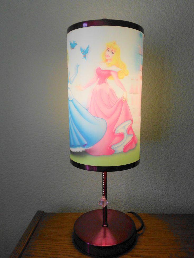 Disney Princesses 3 Dimensional Table Lamp Nightlight