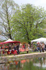 Stadt Schwäbisch Gmünd 2014 Kunsthandwerkermarkt WELEDA