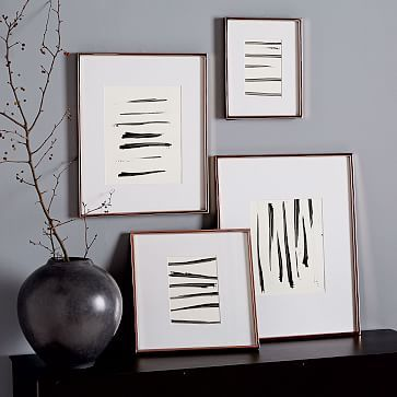 Gallery Frames - Polished Rose Gold #westelm