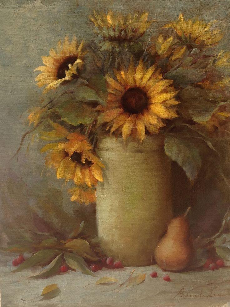 Van Gogh Inspired Oil on Linen 14x18