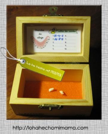 Caja guarda-dientes