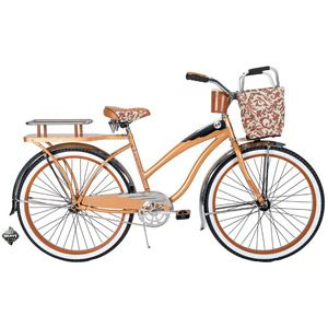 "Huffy Champion 26"" Women's Cruiser Bike, Butterscotch"