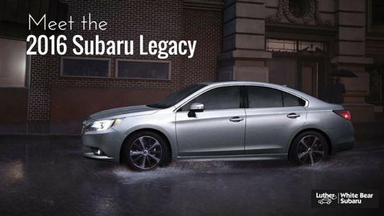 Meet the 2016 Subaru Legacy | White Bear Subaru dealership Minnesota. Have you seen the all-new 2016 Subaru Legacy?  New Subaru sedan for sale near Minneapolis.