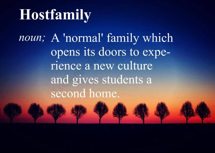 "A Host Family is a 'normal'"" family, which opens its doors to experience a new culture and gives students a second home. If you would like to become a host family, please contact us at lisa@asse.com http://phs.asse.com/"