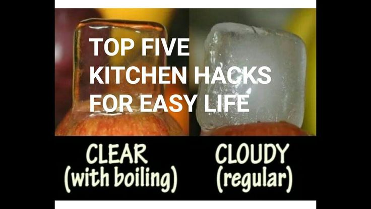 TOP FIVE KITCHEN HACKS FOR EASY LIFE