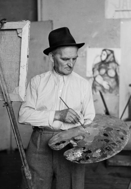 Kmetty János festőművész.