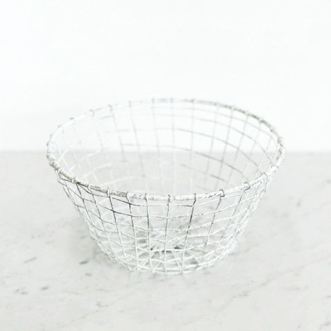 Handmade Wire Bowl | Available at www.LETLIV.co.nz