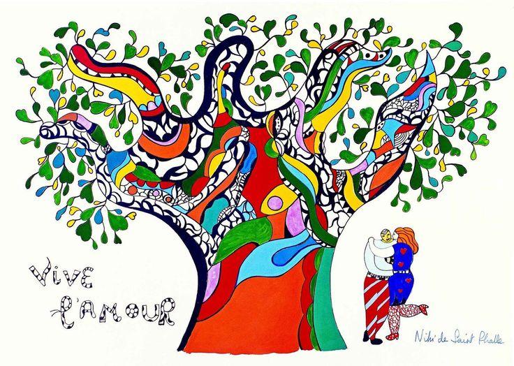 Vive l'amour selon Niki de Saint Phalle - À cartable ouvert