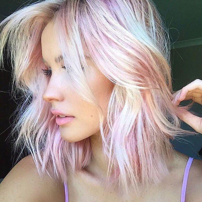 Metallic är den (absolut) finaste hårtrenden i vår
