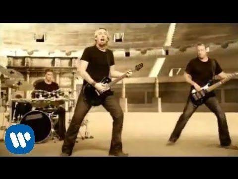 Nickelback - Gotta Be Somebody [OFFICIAL VIDEO] - YouTube