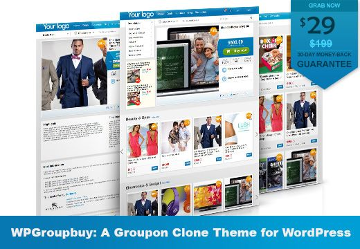 The WPGroupbuy theme is an incredibly powerful and versatile solution for creating daily deals websites in WordPress