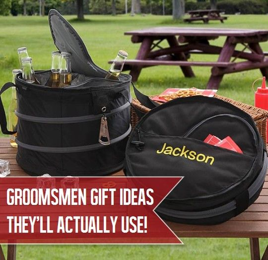 Great Groomsmen Gift ideas that they'll actually use and love! This site is awesome for wedding gifts!