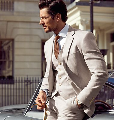 Our guide to the perfect fitting suit