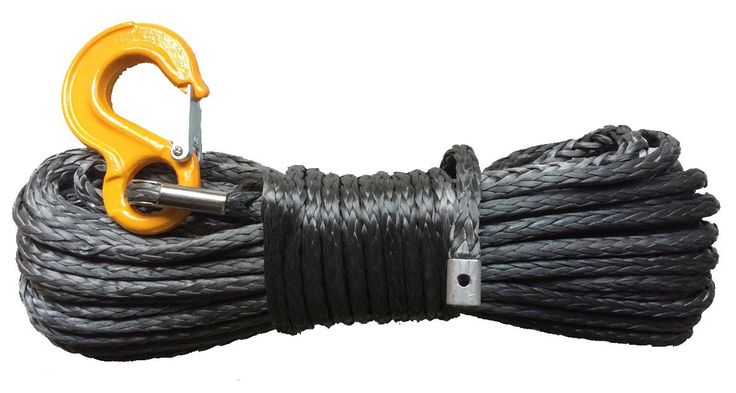 Corde synthétique pour treuil diam. 10mm long.30m avec crochet -   ref: Synth10_30cro   Corde synthétique pour treuil, diamètre 10mm., Longueur 30m couleur: gris vendu avec crochet jaune   #treuil #treuil74 #Cordes Synthétiques treuils #4X4 #quad #SSV  http://www.treuil74.fr/catalogue-produits/11485-corde-synthetique-pour-treuil-diam-10mm-long30m-avec-crochet.html  10%---179,00 €