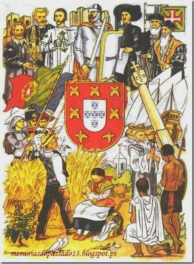 Portugal from Minho to Timor - Estado Novo Propaganda