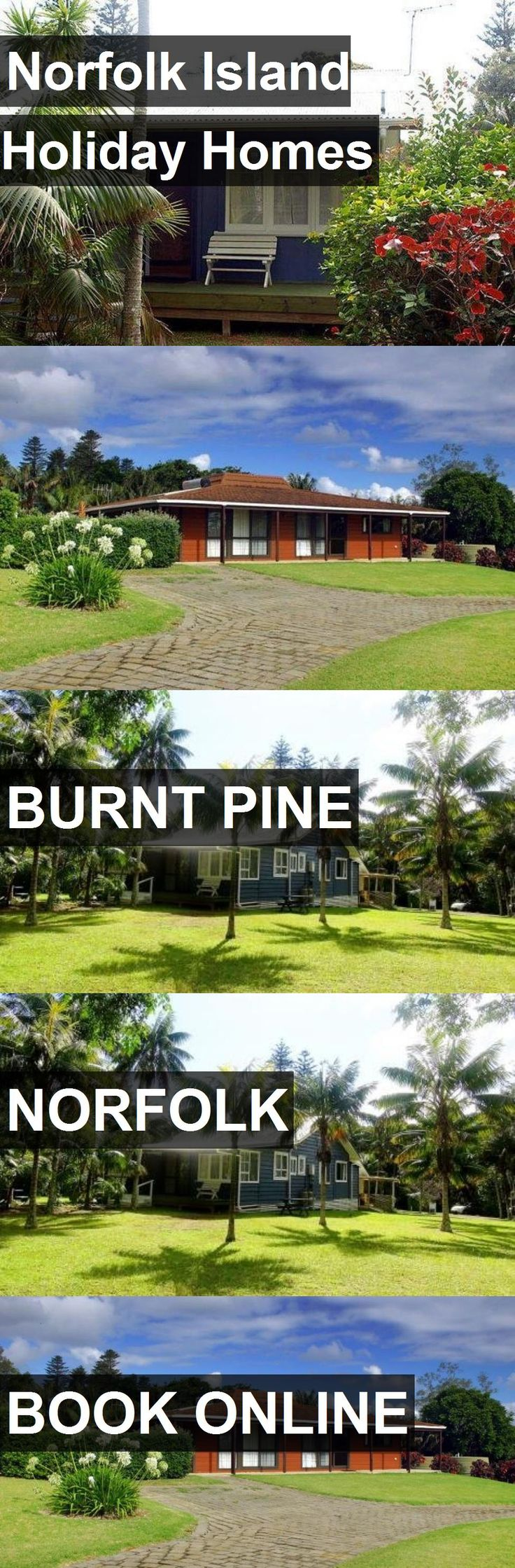 Hotel Norfolk Island Holiday Homes in Burnt Pine, Norfolk. For more information, photos, reviews and best prices please follow the link. #Norfolk #BurntPine #travel #vacation #hotel