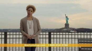 Would you rather drive three quarters of a car or go with the convenience and relief of Liberty Mutual's New Car Replacement coverage? Get your whole car back with the thing that comes standard with the base Liberty Mutual policy, as rates will not go up due to your first car accident. - iSpot.tv