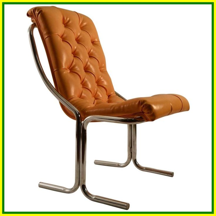 white leather armless office chair