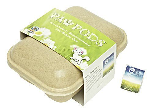 Paw Pods eco-friendly, biodegradable pet burial pods and urns help provide closure for your customers during one of life's most difficult times. Paw Pods make the terrible experience of losing a pet better by delivering the body of the beloved family member in a dignified manner. At Paw Pods we w... more details available at https://perfect-gifts.bestselleroutlets.com/gifts-for-pets/for-cats/product-review-for-paw-pods-biodegradable-pet-casket-medium-pod/
