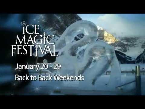 Ice Magic Festival at Lake Louise, Alberta January 20  - 29, 2012