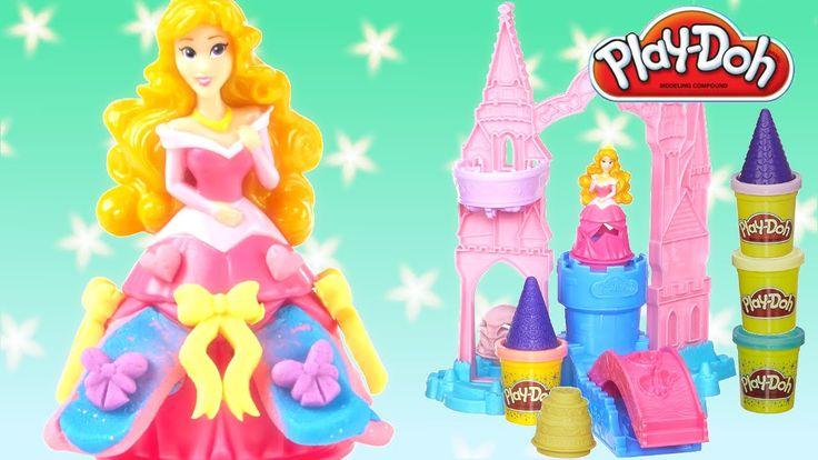 Play-Doh Disney  Princess Aurora  M ix 'n Match Magical Designs Palace Castle Play set From Rainbow Toys TV  https://youtu.be/XtqB0W9xw0Y?list=PLDogJfx3GEGLP5wPCY1no87EidOppjZva