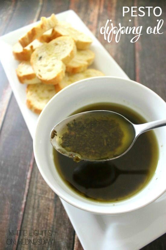 Pesto Dipping Oil | Bread Booze Bacon
