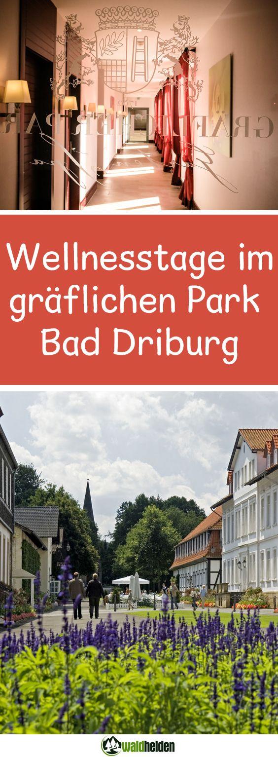 Wellness & Erholung im gräflichen Park in Bad Driburg, NRW.