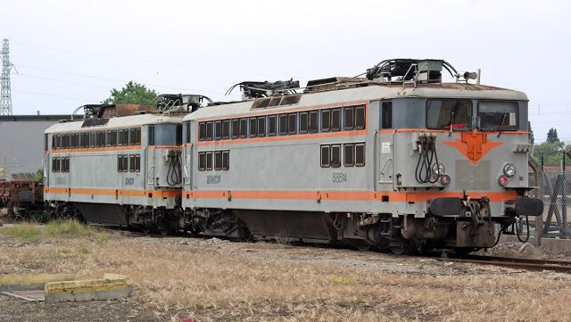 BB 88514 & 88501 à Villeneuve Saint Georges (94)