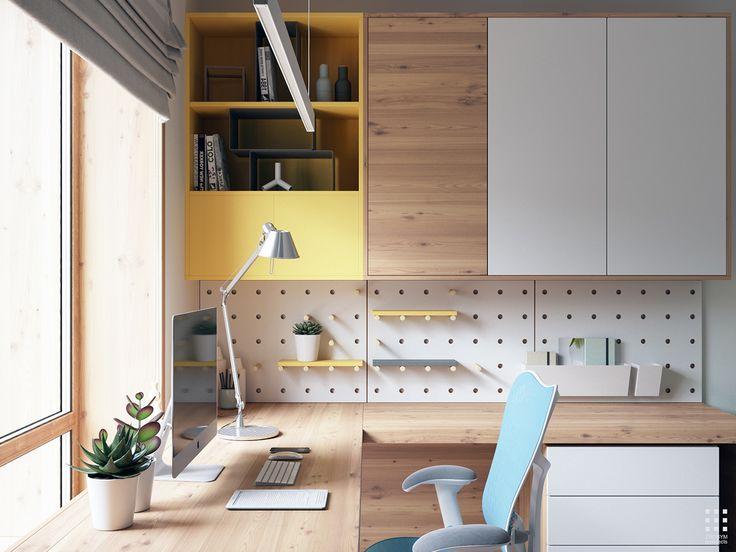 Domowe biuro - jak urządzić? http://domomator.pl/domowe-biuro-urzadzic/