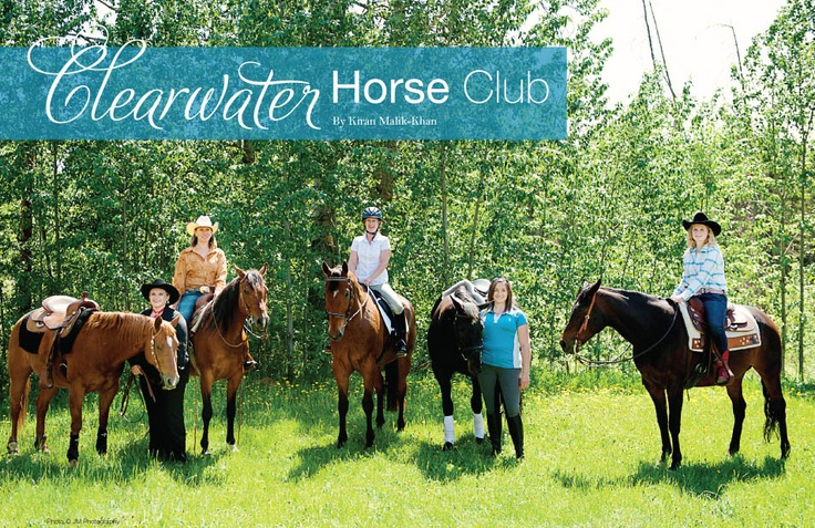 The Women of the Clearwater Horse Club. Photo: JM Photography