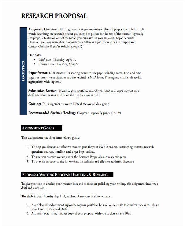 Research Proposal Outline Template Unique 13 Academic Proposal Templates Word Pdf Pages Proposal Templates Research Proposal Writing A Thesis Statement