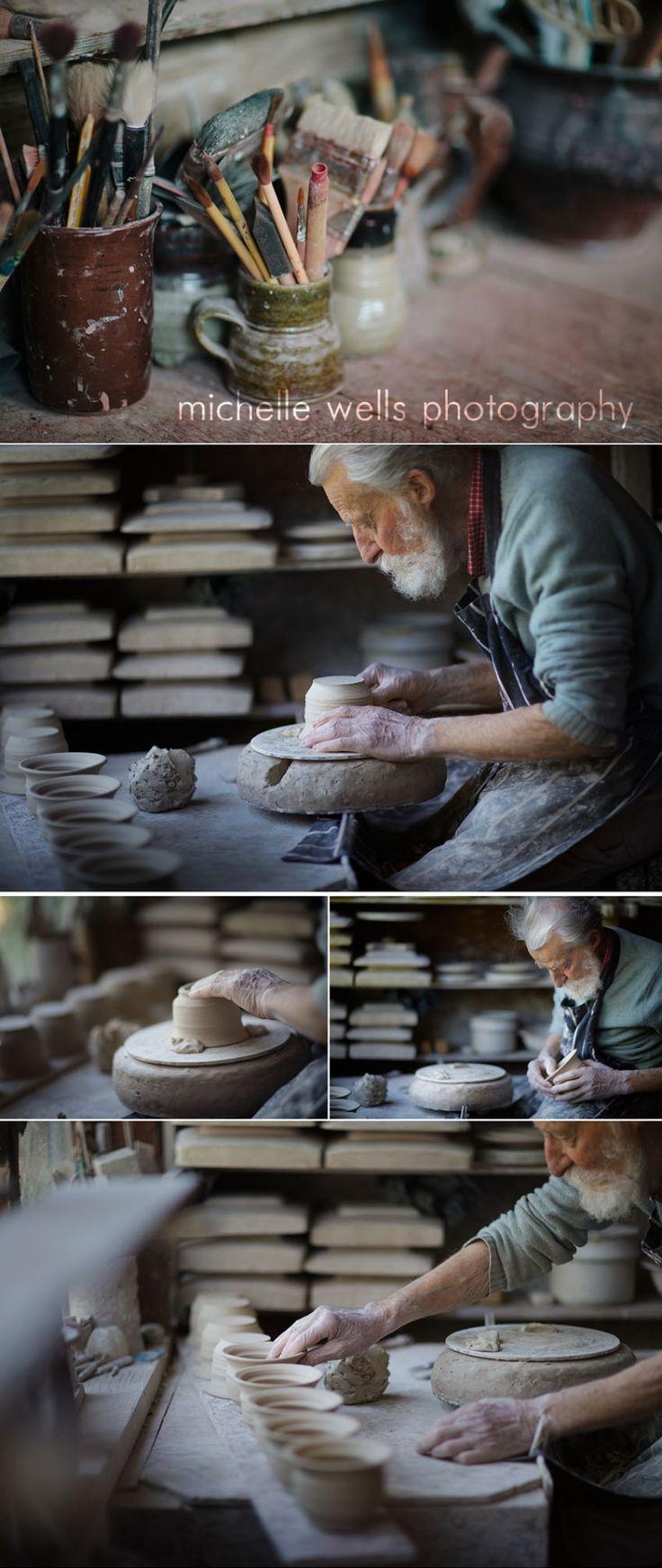 hornby island pottery Studio, vancouver island artisans www.michellewellsphotography