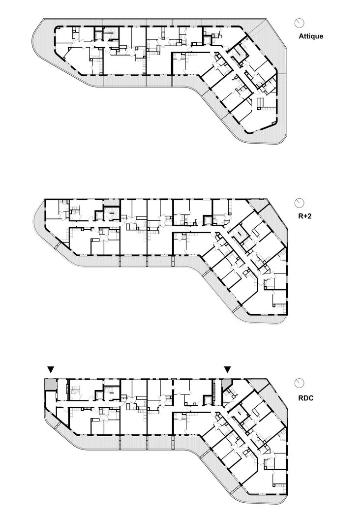 Image 21 of 22 from gallery of La Barquiere / PietriArchitectes. Floor Plans