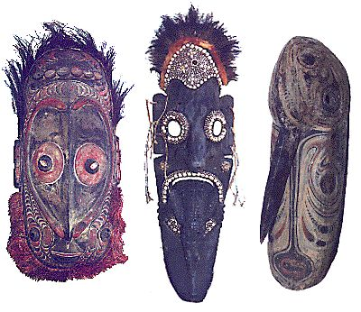 Papua New Guinea, mask.