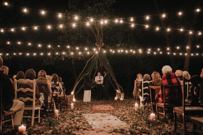 Diese Hochzeit in der Nacht wird Sie Sterne sehen lassen! Kristen Kaiser fotografierte …   – I ***HEART*** WEDDINGS