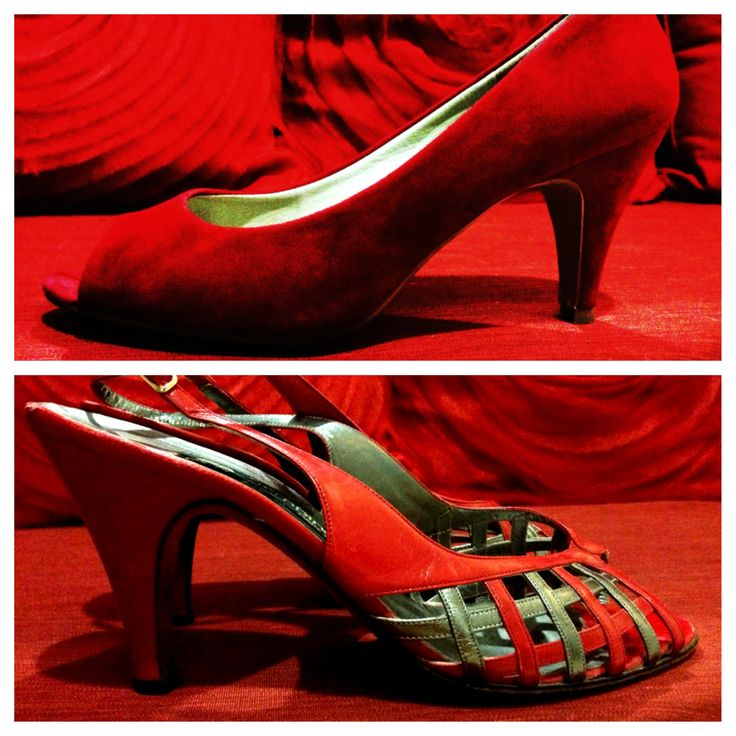 Covert Styling- All red everything. Heels by Novo and vintage. #allredeverything #love #heels #shoes #fashion