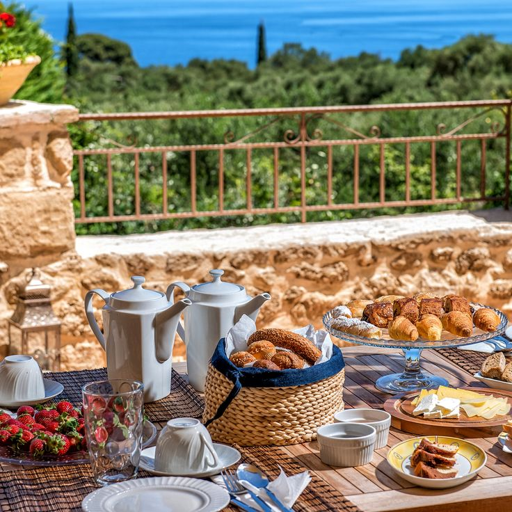 Breakfast is the most important meal of the day! Have your full breakfast at sea view terrace and start your day full of energy! #morning #breakfast