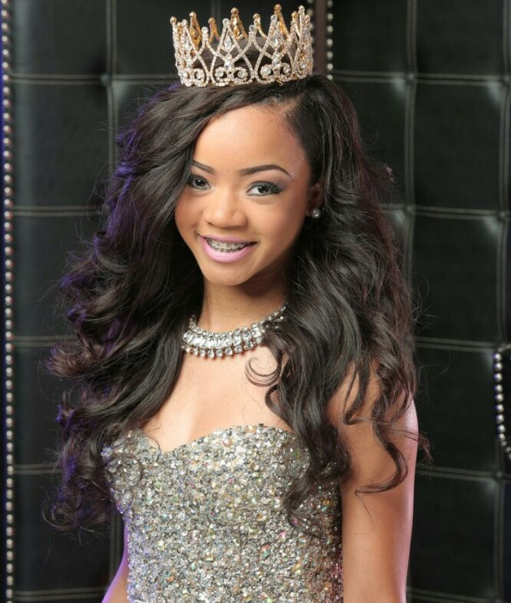 Faith Thigpen in her Sweet 16 Photoshoot