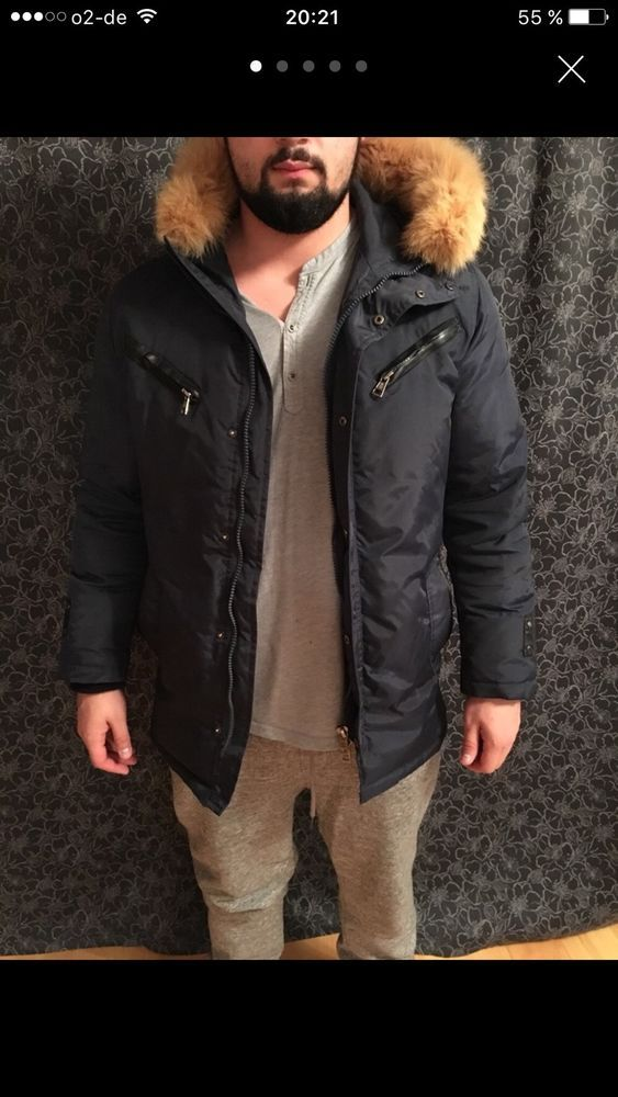 Winterjacke herren mode