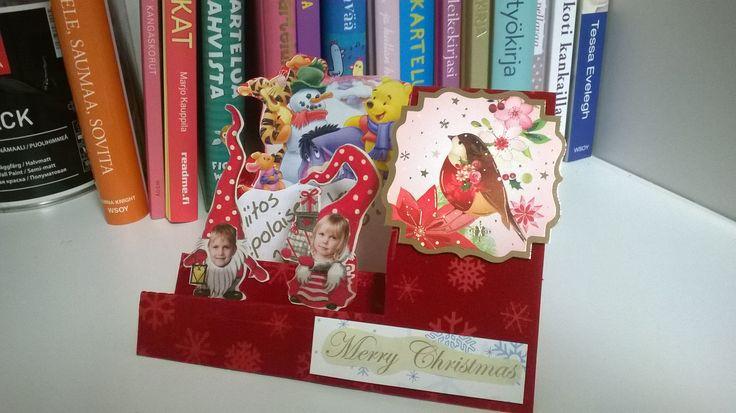 Pop up card, Christmas