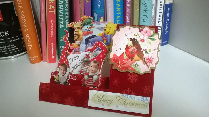 Pop up card, Christmas