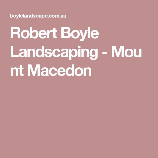 Robert Boyle Landscaping-Mount Macedon