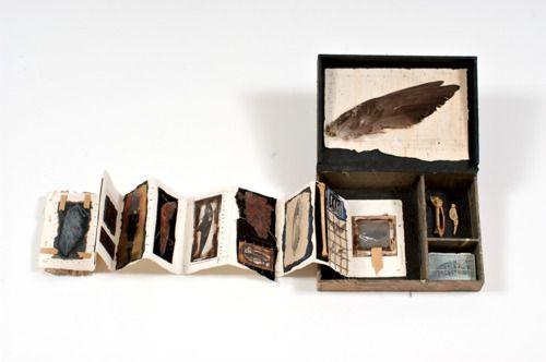 Glen Skien folding out handmade book