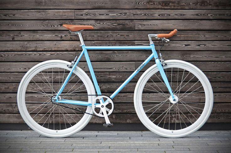 Santa Fixie. Bicicleta Foffa Bike Azure. Comprar Foffa Bikes