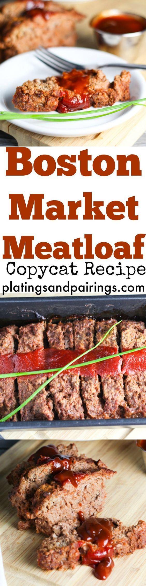 Boston Market Meatloaf - Top Secret