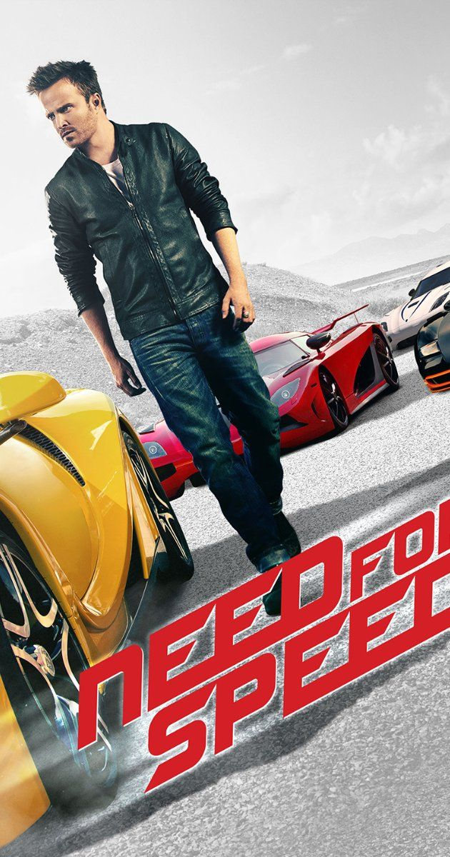 Directed by Scott Waugh.  With Aaron Paul, Dominic Cooper, Imogen Poots, Scott Mescudi. Fresh from prison, a street racer who was framed by a wealthy business associate joins a cross country race with revenge in mind. His ex-partner, learning of the plan, places a massive bounty on his head as the race begins..