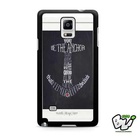 Anchor Typograph One Samsung Galaxy Note 4 Case