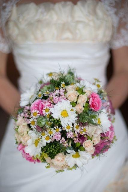 Brautstrauß Nostalgie-Hochzeit