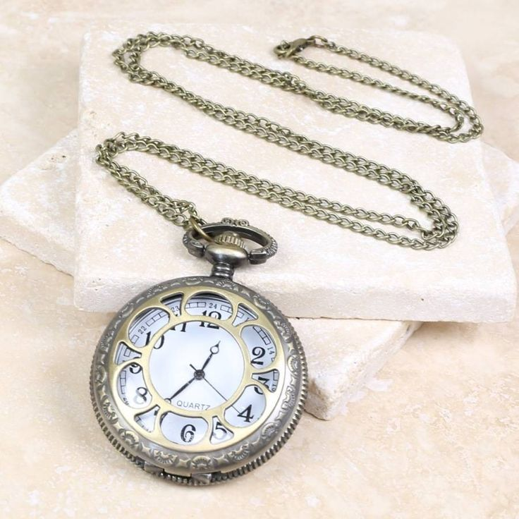 Large Vintage Watch Necklace